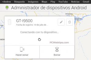 localizar celular android cuenta google