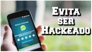 evita ser hackeado