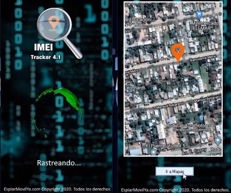rastreando un dispositivo por IMEI